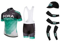 UCI 2018 Pro team Bora hansgrohe men s summer short sleeve Cycling jersey  kit Ropa Ciclismo bicycle bike clothing armwarmer shoe cover kit 66515ebfc