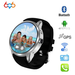 Android Smart Watch Phone 3g NZ - 696 X200 Android 5.1OS Smart watch 1.39 inch Display MTK6580 SmartWatch Phone support 3G wifi nano SIM WCDMA whatsapp MP4 player