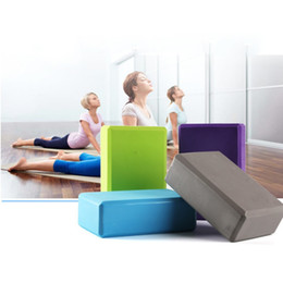 $enCountryForm.capitalKeyWord NZ - New 5 Colors Pilates EVA Sports Exercise Gym Foam Yoga Block Brick Workout Stretching Aid Body Shaping Health Training