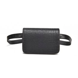 $enCountryForm.capitalKeyWord Canada - Hot Selling Women New Fashion Waist Bag fanny pack Alligator grain Leather Messenger Shoulder Belt Bag Utility Female Chest Bag