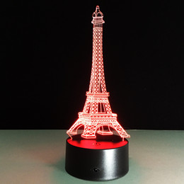 usb led night light 3d effiel tower table lamp usb light led energy saving lamp led new year gifts romantic nacht licht