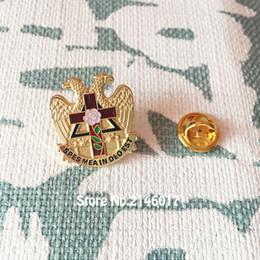 $enCountryForm.capitalKeyWord Canada - 50pcs Enamel Brooches and Pins Scottish Rite Rose Croix Cross 32 Degree Lapel Pin Badge Masonic Masonry Freemason