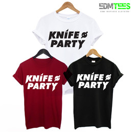 $enCountryForm.capitalKeyWord Australia - KNIFE PARTY PRINTED MENS T SHIRT EDM DUBSTEP ELECTRO MUSIC DJ DANCE RAVE TEE UKFFunny free shipping Unisex Casual tee gift