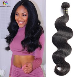 full head brazilian human hair UK - 2018 new arrival 3 bundles for full head Brazilian Hair Weave Bundles With Body Wave Human Hair Natural Extention