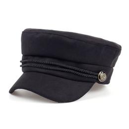 $enCountryForm.capitalKeyWord NZ - Fashion Blank Black High Quality Newsboy Caps for Women Spring Autumn Winter Hats Felt Cap Winter Ladies Black Hat Beret Cap S1020