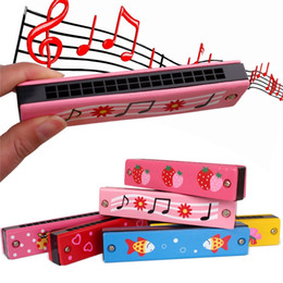 $enCountryForm.capitalKeyWord Australia - Wooden green paint children music enlightenment harmonica,16 hole wooden play toy,boy girl gift toy mouth organ give finger gyro