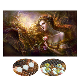 Mosaic eMbroidery online shopping - Special Shaped Diamond Embroidery Beauty Lady D Diamond Painting Cross Stitch D Diamond Mosaic Decoration Christmas