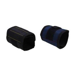 $enCountryForm.capitalKeyWord UK - Magnetic Wristband Pocket Tool Practical Strong Wrist 3 Magnets Tool Bag Belt Pouch Bag Screws Holder Holding Tools