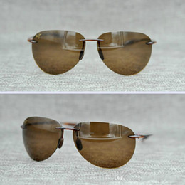 c84e3d6ea76b4 Discount maui jim sunglasses Brand Designer- Maui Jim Sunglasses 421-10 Breakwall  sunglasses Rimless