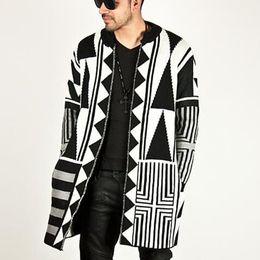 New Autumn Casual Cardigans Sweaters Mens Men s Vintage Slim Knitwear Long  Sleeve Wool Sweaters Man Jacket Suit Plus Size J181183 c32147b19