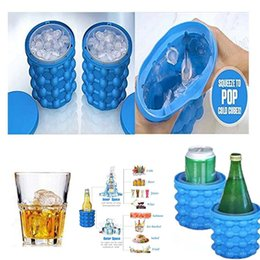 $enCountryForm.capitalKeyWord Canada - Drop Ice Cube Maker Genie The Revolutionary Space Saving Silicone irlde ice bucket mold Kitchen Tools for whiskey Chilling wine juice DHL