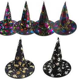 $enCountryForm.capitalKeyWord NZ - Halloween Witch Hats Pointy Witch Hat Pointy Hot Winnings Hat Clothing Making Halloween Party Available For Adults&Children