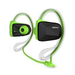 $enCountryForm.capitalKeyWord NZ - Jabees Bsport NFC Wireless Sports Bluetooth Headset Earphone Stereo Sweatproof Waterproof Swimming Running headphone 15pc lot