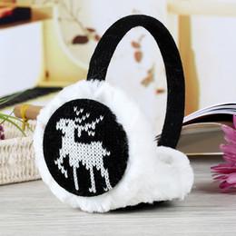 $enCountryForm.capitalKeyWord NZ - Adult Winter Women Men Earmuffs Lovers Ear Warmer Plush New Plain Teenage Student Mother Girl Printed EarMuffs