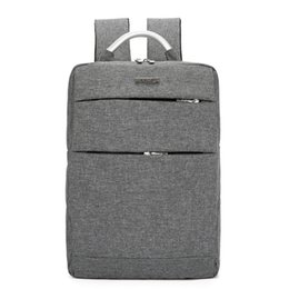 Wholesale Fashion Casual Men Laptop Backpack Red Gray Blue Black Multi function Large capacity Business Travel Backpack Student School Bag