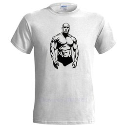 6e7c8ca31 MUSCLE MAN DESIGN MENS T SHIRT GYMMER PUMPING IRON WEIGHT LIFTING BODY  BUILDING Mens Short Sleeve Tees