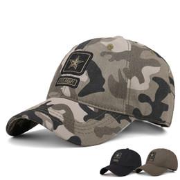 Tactical Baseball Cap Men Militar SWAT Camo Snapback Hats Outdoor Equipment  Casual Camouflage hunter work Cotton Hunt Truck Hats 452ace7686f9