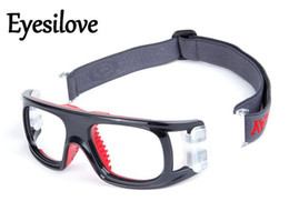 b75b27b9167 Eyesilove tennis soccer volleyball football Basketball sports goggle  glasses frame protective goggle frame can make prescription