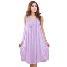 Summer long silk nightgown nightdress for women plus size ladies lingerie  pajama maternity sleepwear pregnant nightwear robes 6b2d45bd5