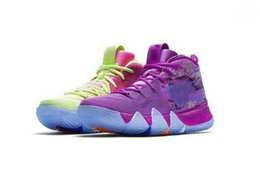 Chinese  Irving 4 Confetti kids women men shoes for sale free shipping basketball shoes Wholesale prices online store US7-US12 manufacturers