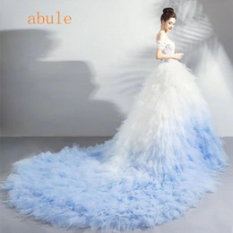$enCountryForm.capitalKeyWord NZ - Ruffles Wedding Dress royal train 2018 African puffy Tiered sweetheart cap sleeve illusion Custom Made wedding Bridal Gown