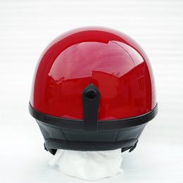 $enCountryForm.capitalKeyWord Australia - Motorcycle half face helmet with genuine leather ear bike helmet four colors