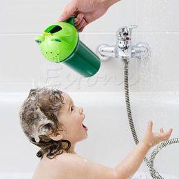 Baby Wash Hair Australia - New Tearless Baby Child Wash Hair Eye Shield Shampoo Rinse Cup Product Quality Bath