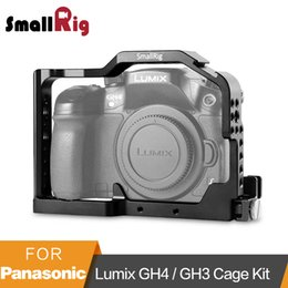 rail for camera NZ - wholesale Professional Camera Cage for Panasonic Lumix GH4   GH3 with Built-in Side Nato Rail and HDMI lock - 1585