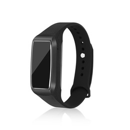 vision smart UK - Smart Bracelet Video Recording Camera HD 1080P Mini DVR Camera with Night Vision and Vibrate Function Black Adjustable Wristband