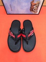 8e19e44256a11c flip flops SANDALS 207502 Men Slippers Slippers Drivers Sandals Slides  Sneakers Leather Slipper