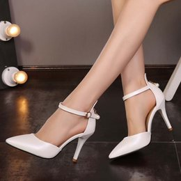 pins big Canada - Summer sharp pin buckle high heel sandals 31-33 small code 40-43 big code fashionable Baotou women's shoes