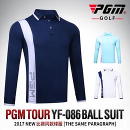 $enCountryForm.capitalKeyWord Canada - PGM New Golf Clothes Golf POLO Shirt Men's Outdoor Sports T-shirt Autumn Thick Wind Keep Warm Quick Dry Long Sleeve TennisTshirt
