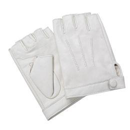 $enCountryForm.capitalKeyWord Australia - New Arrival Fashion Women Fingerless Driving Gloves Wrist Half Finger Genuine Leather Gloves Sheepskin Women Mittens