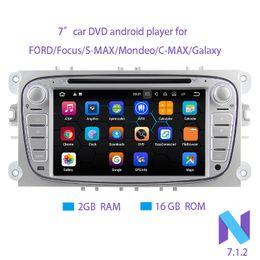 $enCountryForm.capitalKeyWord Canada - Android 7.1.2 Two Din 7 Inch 1024*600 Car DVD Player For FORD Focus S-MAX Mondeo C-MAX Galaxy RAM 2G 16GB ROM WIFI GPS Navigation Radio