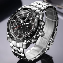 $enCountryForm.capitalKeyWord Australia - CAINO Men Sport Watches Luxury Top Brand Full Steel Fashion Business Waterproof Analog Quartz Wrist Watch Male Relogio Masculino