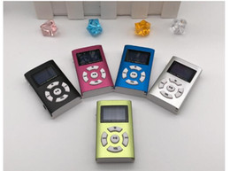 sports gifts mp3 player Canada - There are screen plug-in MP3 aluminum shell book music MP3 player gift sports walkman
