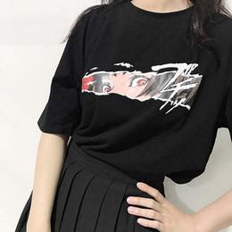 2c089910688 2018 Summer Korean Ulzzang Women T-shirt Punk Japanese Harajuku Cartoon Oversized  Female T Shirts Gothic Loose Street Tops 0520