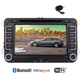 Vw Stereos Android Australia - Android 6.0 Marshmallow Car DVD Player Quad core CPU Volkswagen VW Car Stereo 1GB RAM and 16GB ROM Latest HD 1080P Video