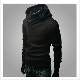 assassins creed hoodies free shipping UK - Free shipping 2018 Autumn & Winter Men Brand Fashion Casual Slim Cardigan Assassin Creed Hoodies Sweatshirt Outerwear Jackets