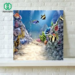 canvas prints paintings NZ - WHISM Flower Scene Retro Oil Painting on Canvas Decorative Abstract Canvas Paintings Printing Wall Art Pictures Oil Paintings