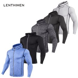 mma sweatshirts hoodies UK - Thin Bodybuilding Sweatshirts Men MMA Rashguard Zipper Fitness Gyms Hoodies Men Workout Crossfit Pullover Sportswear Tracksuit