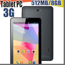 China Phones Quad Australia - 40X 2017 tablet pc 7 inch 3G Phablet Android 4.4 MTK6572 Dual Core 512MB 8GB Dual SIM GPS Phone Call WIFI Tablet PC cheap china phones B-7PB