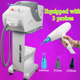 Wholesale nd yag laser machine laser tattoo removal machine pigmentation removal black doll treatment beauty equipment million shots