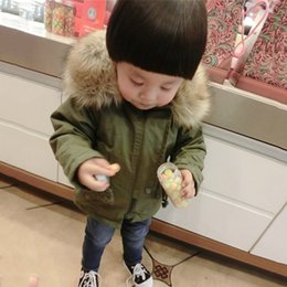 7786599f05e New Arrival Children Jacket Warm Kids and Girls Fake Fur Hooded Camouflage  Printed Coat Fashion Kids Clothes