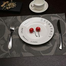 $enCountryForm.capitalKeyWord NZ - 2 4 6pcs set Kitchen Table Mats PVC Table Napkin Pharbitis Nil Flower Pattern Decorative Placemats Insulation Pads 30*45cm Mat
