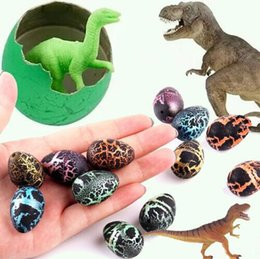 Dinosaur eggs hatching toy online shopping - 2 cm Magic Hatching Growing Dinosaur Fun Toy Add Water Grow Dino Egg Children Kid Fun Funny Action Figure Toy Novelty Items CCA10542