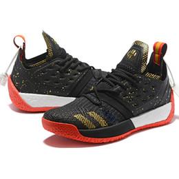 Chegada NOVA moda designer de luxo sapatos James Harden Vol.2 tênis de basquete Mens MVP tênis de corrida dos homens tênis de corrida de esportes tamanho 40-46