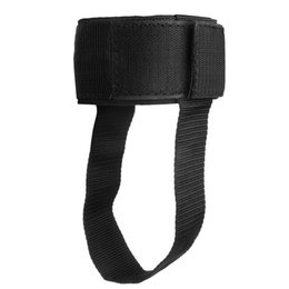 Black Cable Ring Australia - Black Ankle D-ring Strap Gym Foot Cable Attachment Thigh Leg Pulley Weight Lifting Ankle Strap