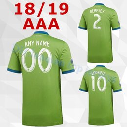 f51ecc8f5 2018 Seattle Sounders home Soccer Jersey 18 19  2 DEMPSEY  29 TORRES  Seattle Sounders FC Soccer Shirt MLS football uniform Sales
