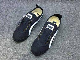 2018 venda quente MÉXICO 66 homens mulheres tigre lona unisex sapatos casuais sapatos leves venda por atacado